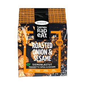 Siemenrapeat Siemenlastut Roasted Onion & Sesame